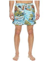 341e2d1d Polo Ralph Lauren - Polyester Traveler Shorts (landscape Hawaiian) Swimwear  - Lyst