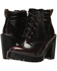 Dr. Martens - Persephone 6-eye Padded Collar Boot - Lyst