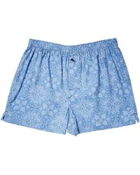 Tommy Bahama - Printed Island Washed Cotton Woven Boxer - Lyst