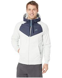 9e04985d7 Nike - Nsw Hoodie Full Zip Core Winter Snl (light Silver/obsidian/celestial