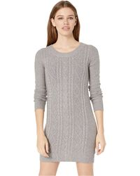 50e2fd4123a Jack BB Dakota - Keeps Getting Sweater Cable Knit Dress - Lyst