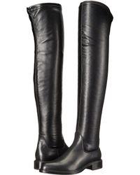 Womens Boots aquatalia black gisele calf stretch nappa ee9e21z3