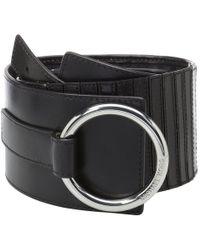 "MICHAEL Michael Kors - 75mm (2.8"") Woven Leather Belt - Lyst"