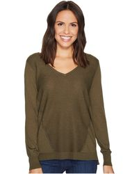NYDJ - Double V-neck Sweater - Lyst