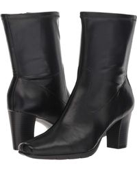 A2 By Aerosoles - Persimmon (black Fabric) Women's Boots - Lyst