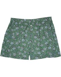 Tommy Bahama | Printed Island Washed Cotton Woven Boxer | Lyst