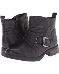 Earth - Jericho Leather Ankle Boots - Lyst