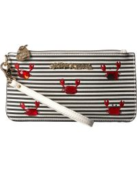 Betsey Johnson - Don't Be Shellfish Wristlet - Lyst