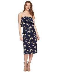 76293e718dd1 Flynn Skye Louie Mini Dress (deep Blue Blooms) Dress in Blue - Save ...