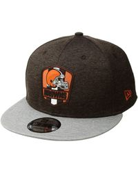 KTZ - 9fifty Official Sideline Away Snapback - Cleveland Browns - Lyst f599083b0d67