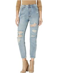 RVCA - Piper Jeans In Vintage Blue - Lyst