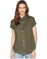 Allen Allen - Short Sleeve Camp Shirt - Lyst