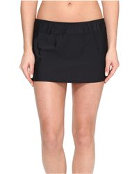 Athena - Solids A-line Skirt Cover-up - Lyst