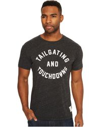 The Original Retro Brand - Tailgating & Touchdown Short Sleeve Tri-blend Tee - Lyst
