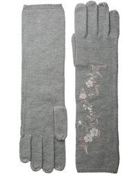 Lauren by Ralph Lauren - Chrysanthemum Embroidered Glove - Lyst