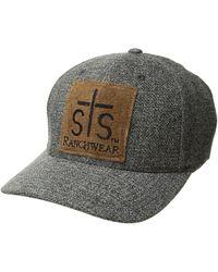 f5cbadbdf83a4 STS Ranchwear - Patch Ball Cap Flexfit - Lyst