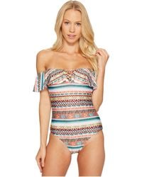 Becca - Tapestry One-piece - Lyst