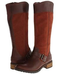 Timberland - Earthkeepers(r) Bethel Tall Boot (glazed Ginger) Zip Boots - Lyst