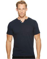 Joe's Jeans | Wintz Short Sleeve Slub Henley | Lyst