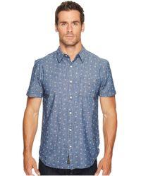 Lucky Brand - Short Sleeve Ballona Shirt - Lyst