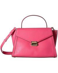 55e14f237ae9 Michael Kors Michael Chandler Medium Convertible Shoulder Bag in ...