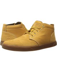 Timberland - Groveton Leather And Fabric Chukka - Lyst