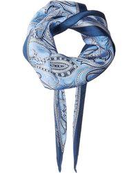 Lauren by Ralph Lauren - Corina Silk Diamond Shape Scarf - Lyst