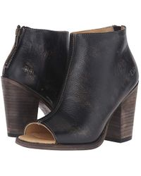 Bed Stu - Onset (black Handwash Leather) Boots - Lyst