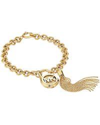 Michael Kors - Logo Link Bracelet - Lyst