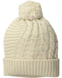 653a22f0f45 Polo Ralph Lauren - Traveling Cable Hat - Lyst