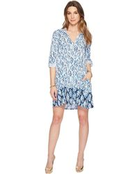 d3b7e8d22d1b Lilly Pulitzer - Lillith Tunic Dress (resort White Drop In Engineered) Dress  - Lyst
