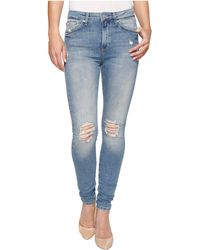 Mavi Jeans - Lucy High-rise Super Skinny In Used Vintage - Lyst