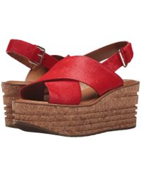 58ae8d7aeca Lyst - Franco Sarto Sarto By Maisi Ankle Strap Espadrille Sandals in ...
