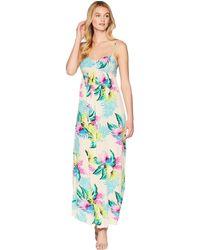 eec371cc82 Urban Outfitters Uo Ophelia Ruffle Hem Midi Dress in White - Lyst