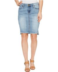 Kut From The Kloth - Connie Hi-low Skirt In Dashing - Lyst