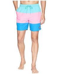 6a19243317409 RVCA Eclectic Elastic Shorts in Blue for Men - Lyst