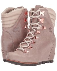Sorel - Conquest Wedge Holiday - Lyst
