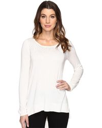 NYDJ - Rhinestone Sweater - Lyst