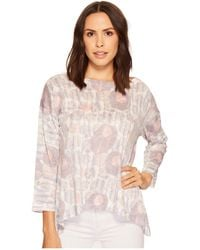 Nally & Millie - Printed Boxy Top - Lyst