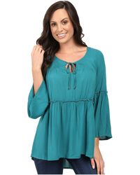 Scully - Honey Creek Veronica Top - Lyst