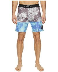 "Globe Breezer 18/"" Board Short Aquamarine"