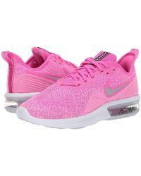 a98ba20242 Nike - Air Max Sequent 4 (laser Fuchsia/metallic Silver) Running Shoes -