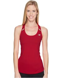 830bded2d7ab3 Lyst - New Balance Nb Ice Tank Top in Green