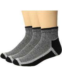 Hue | Sport Quarter Top Socks 3-pair Pack | Lyst