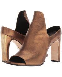 0dc7fac49be37 Lyst - Sam Edelman Wedge Sandals Sutton in Brown