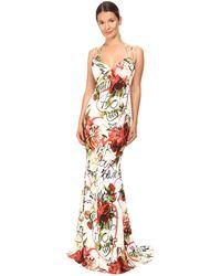 Philipp Plein - Floral Sleeveless Long Dress - Lyst
