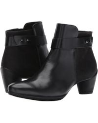 Ecco - Sculptured 45 Boot Ankle Bootie - Lyst