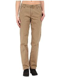 9c98277afc9fd Carhartt Slim Fit Crawford Double Front Pant in Gray - Lyst