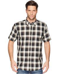 Pendleton - Linen Short Sleeve Button Down Collar Shirt - Lyst