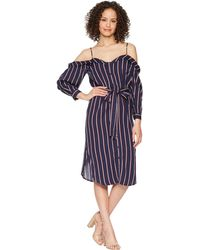 38552f3a1a Lyst - City Chic Entwine Cold Shoulder Maxi Dress in Blue - Save 50%